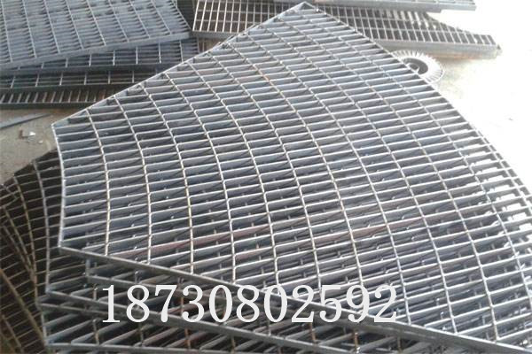 扇形平台钢格板
