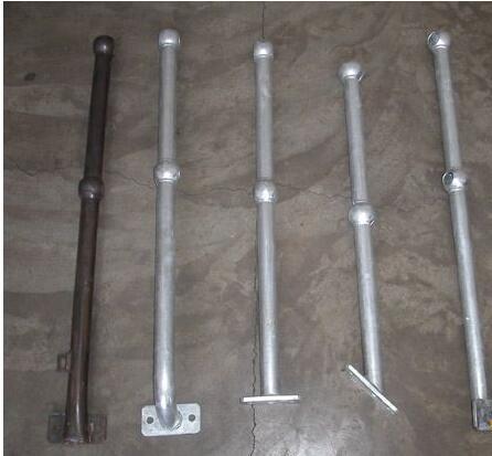 球接立柱,球接栏杆,热镀型球接立柱,球接立柱栏杆特点用途