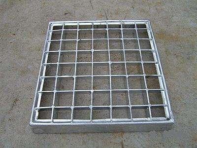 钢格板井盖板,钢格板沟盖板,雨水篦子